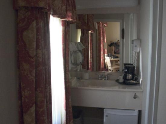 Best Western Plus Elm House Inn: The sink area.