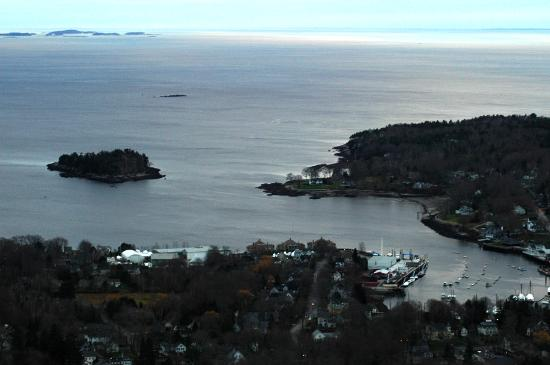 Mount Battie: Camden Harbor and Curtis Island