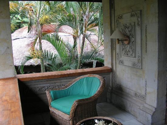 Puri Padi Hotel: terasse