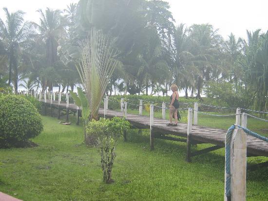 Puerto Viejo, Kostaryka: Suerres Resort, Punta Uva