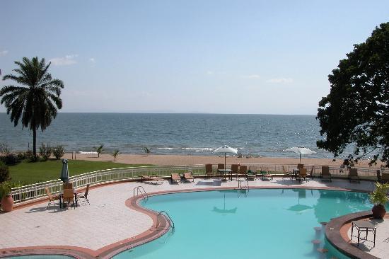Lake Kivu Serena Hotel: View from room