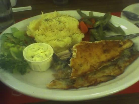 Red Viking Restaurant: Rainbow trout