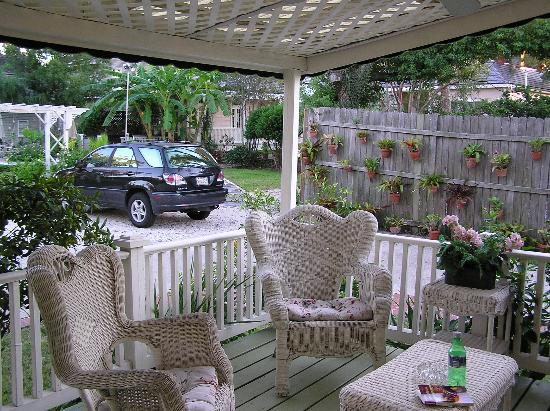 The House on Bayou Road: Our patio