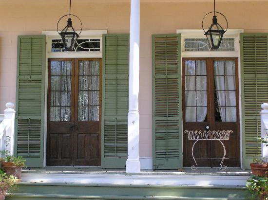 The House On Bayou Road Front Porch