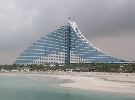 Jumeirah Beach Hotel: the hotel
