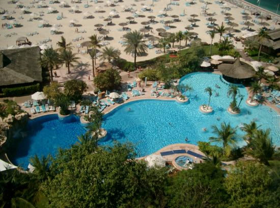 Swimming Pool Picture Of Jumeirah Beach Hotel Dubai Tripadvisor
