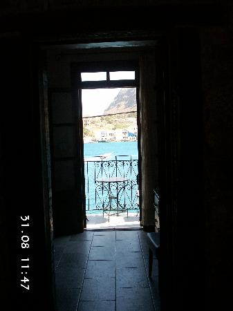 Kastellorizo, Greece: View from our Balcony