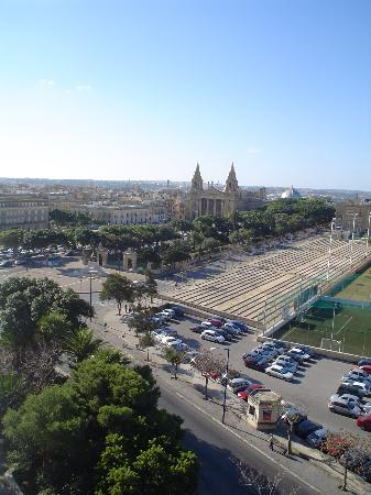 The Phoenicia Malta: View of Floriana from our room