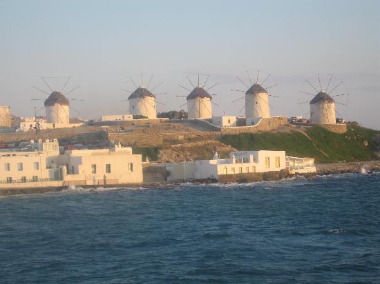 Hotel Zannis: Les moulins de Mykonos