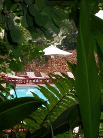 Nairobi Serena Hotel: Serena Pool from Restaurant