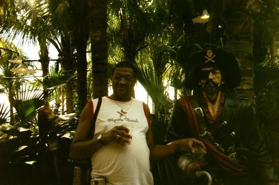 Seacrets, Jamaica U.S.A.: Captain whats his name at Seacrets