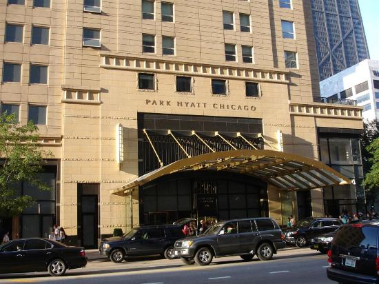Entrance picture of park hyatt chicago chicago for Best hotel deals downtown chicago