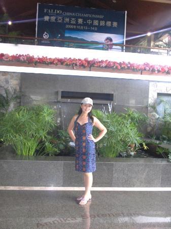 Mission Hills Resort Shenzhen: My Wife