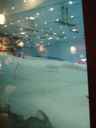 Queens Hotel : Ski Dubai in the mall of the emirates