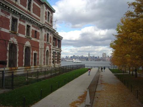 View of NY from Ellis Island