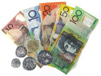 Australian currency - notes and coins