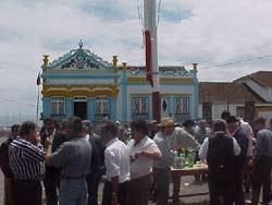 Holy Spirit Feast in the village of São Bartolomeu