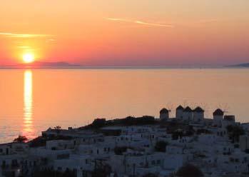 myconos sunset
