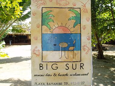 Big Sur beteween Casa Del Mar and Bayahibe