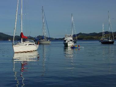 Yachts at anchor- BOI