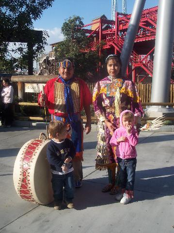Native American Dancers Indian Trails Knott