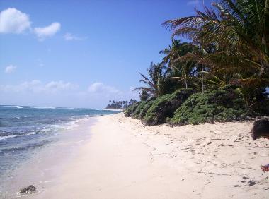 A view of San Luis beach