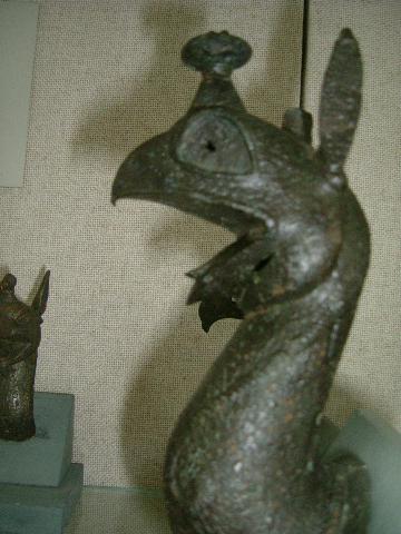 Ancient pot handle