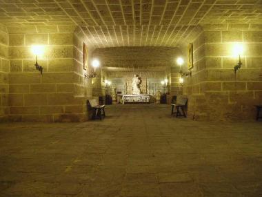 Cádiz Cathedral crypt