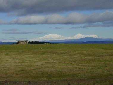 Mountains as seen from the Napier-Taupo Road