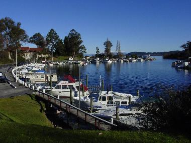 Taupo harbour