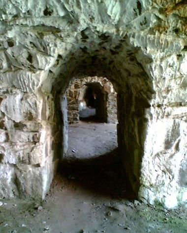 Tunnels underground