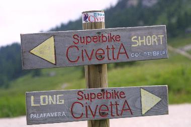 Civetta Superbike Directions