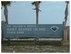 Entrance Sign to SGI State Park
