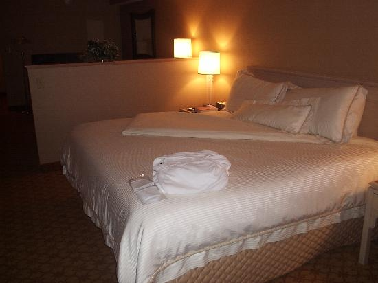 Inn at Saint Mary's: A very comfortable bed!