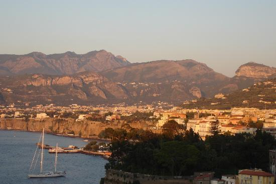 Sorrento at sunset