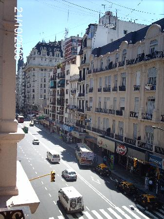 Nuevo Hotel Callao: north view from my balcony