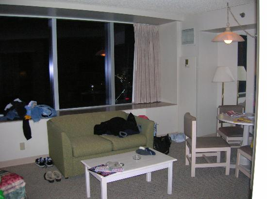 Royal Suites at  Atlantic Palace : the (messy) room