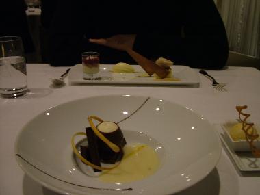 Desserts at Initiale