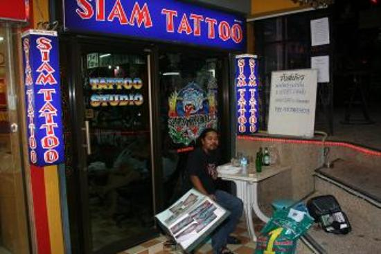 Siam tattoo shop best tattoist in thailand bilde av for Tattoo shops cape coral