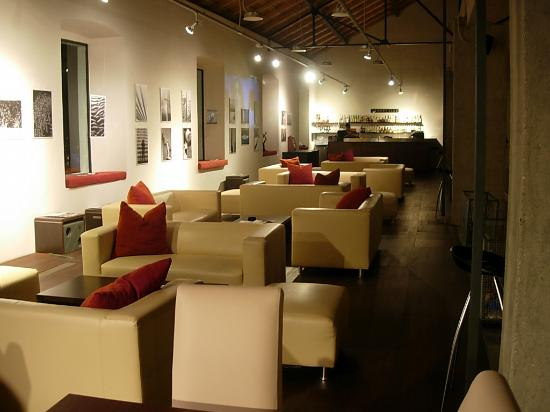 inside Arsenal/coffee lounge
