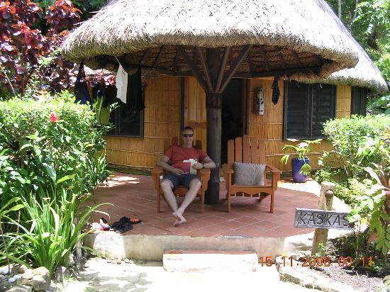 Matangi Private Island Resort: Our porch