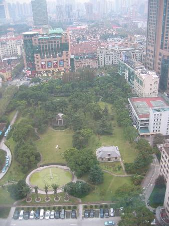 Okura Garden Hotel Shanghai: View from 29th floor room
