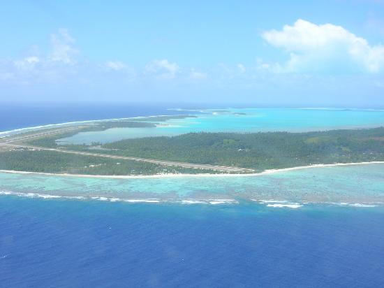 Pacific Resort Aitutaki: Landing in Aitutaki