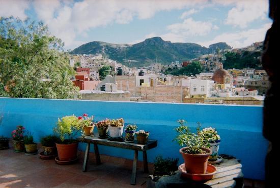 El Zopilote Mojado: Terrace