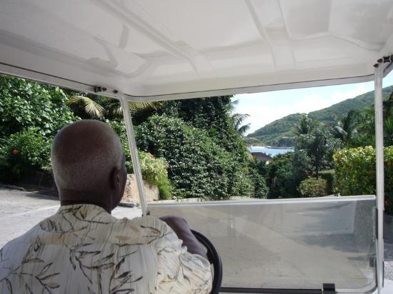 Peter Island Resort and Spa : Our Driver