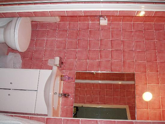 ‪‪Nice Garden Hotel‬: This pink bathroom was very clean and totally modern‬