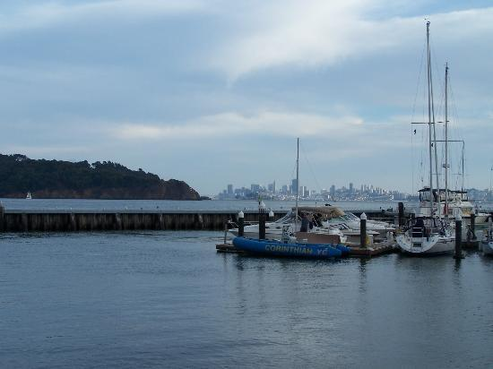 View from dock at Tiburon