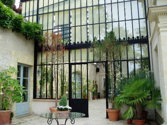 Domaine des Bidaudieres : entrance