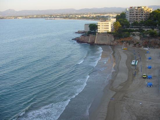 Salou, Spanje: Platja Capellans in winter