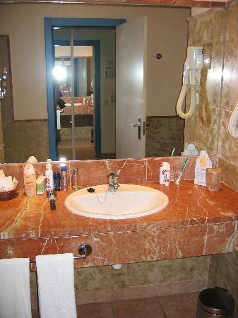 Iberostar Playa Gaviotas : Badezimmer
